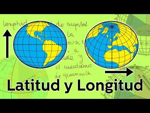 Latitud Y Longitud Geografía Educatina Coordenadas Geográficas Geografia Astronomia