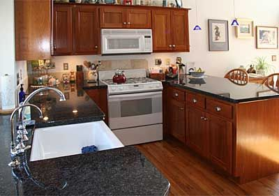 cherry cabinets with white appliances kitchen inspirations kitchen remodel white appliances on kitchen remodel appliances id=81348