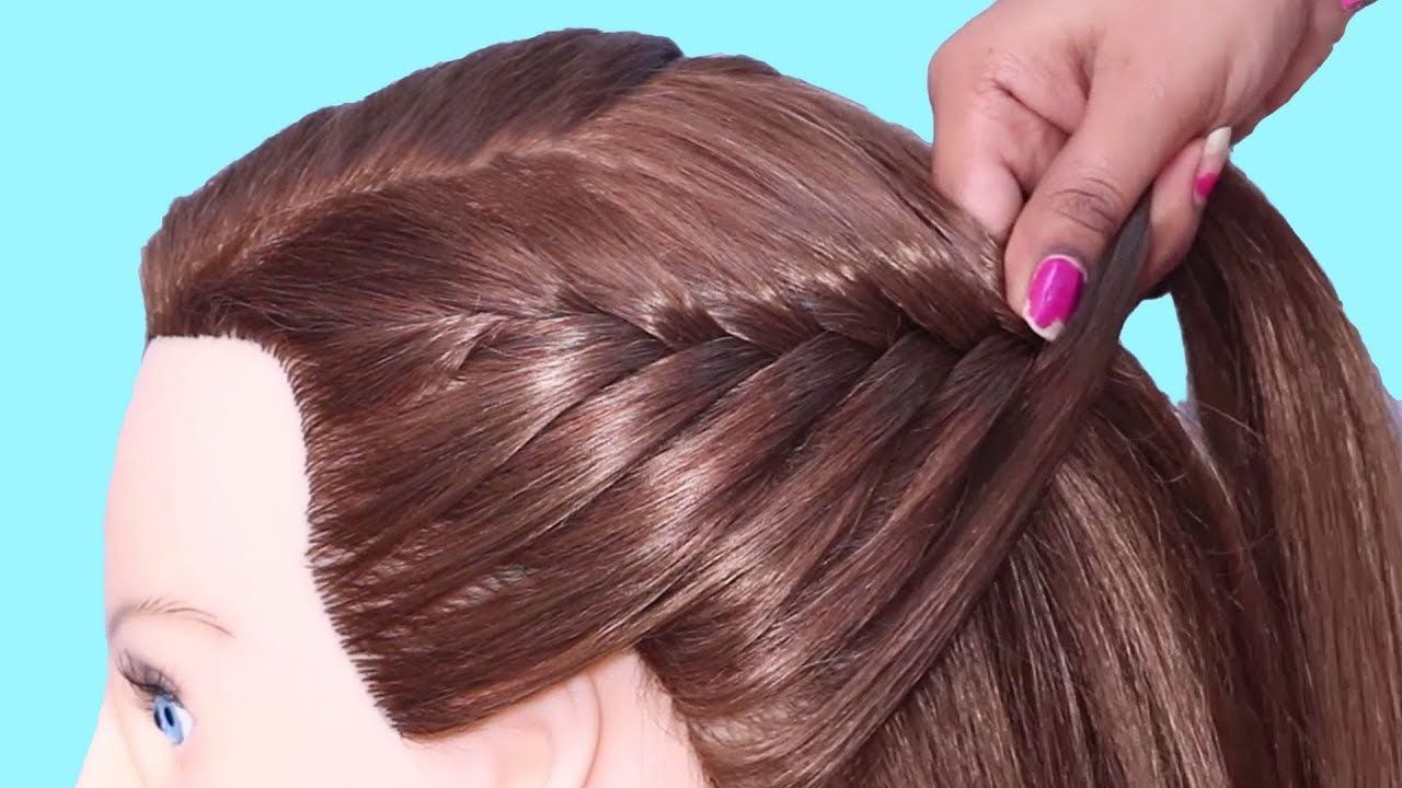 beautiful doll hairstyle for girls  hair style girl  new and