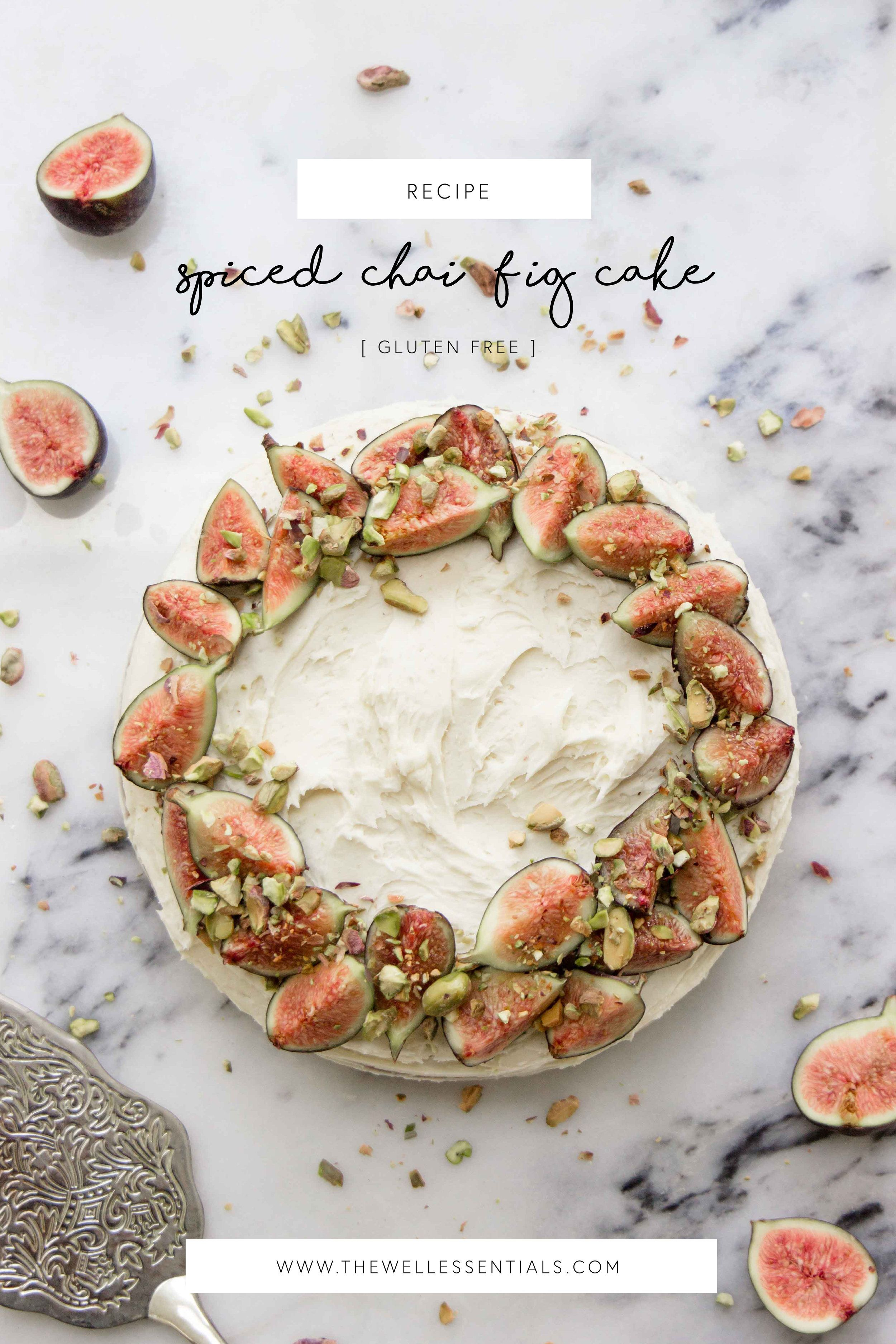 Photo of Spiced Chai Fig Cake With Vanilla Buttercream