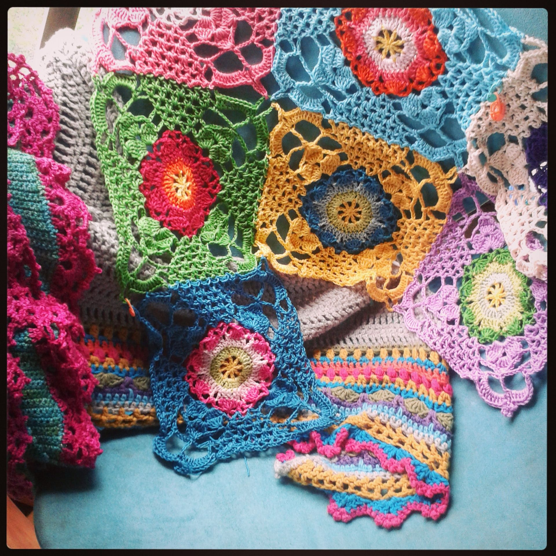 Rustic Lace Square | Blankets | Pinterest | Squares, Crochet and Blanket