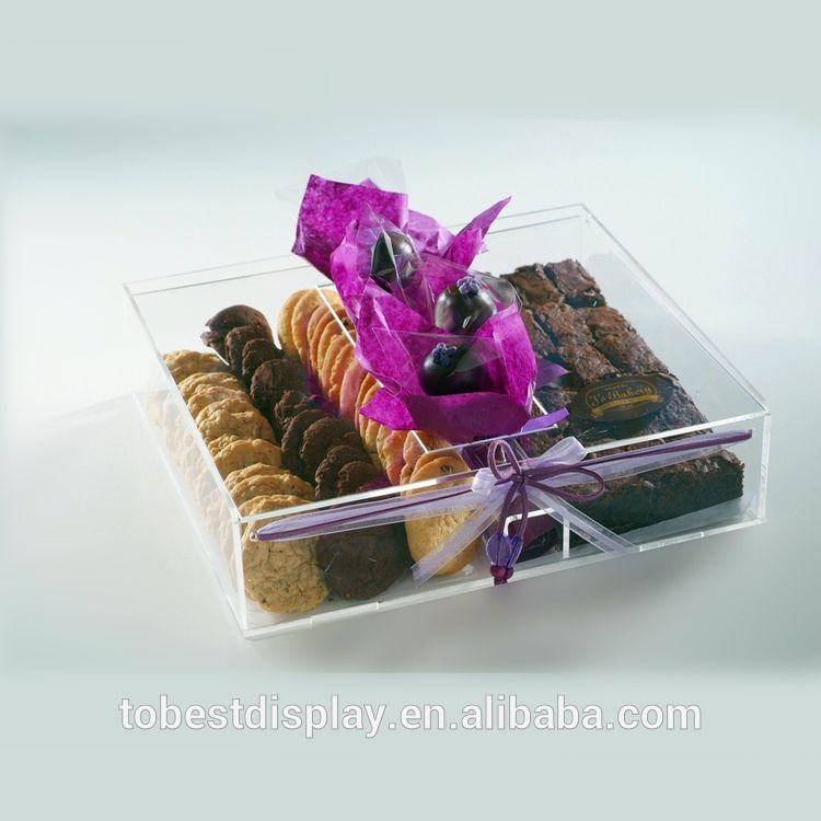 الاكريليك شبكي الشوكولاته هدية مربع الشوكولاته مربع التعبئة والتغليف علب الهدايا حلويات محل Chocolate Gift Boxes Food Gifts Packaging Chocolate Box Packaging
