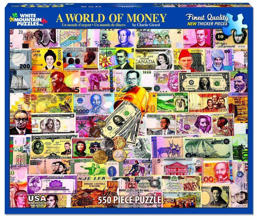 A WORLD OF MONEY - 550 Piece Jigsaw Puzzle