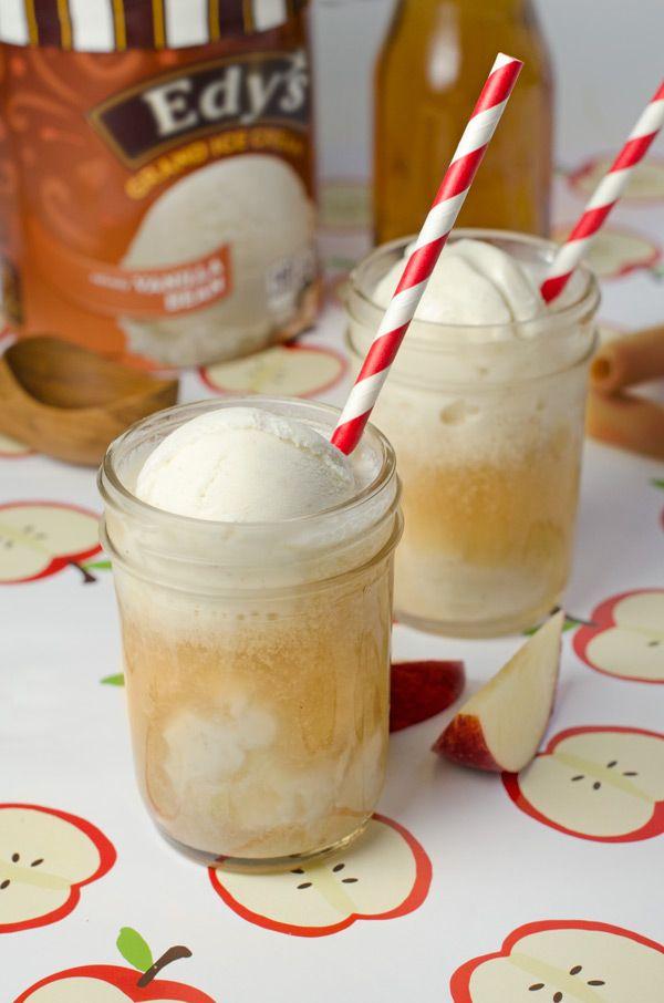 Apple Cider Float   Recipe   Delicious desserts, Ice cream ...