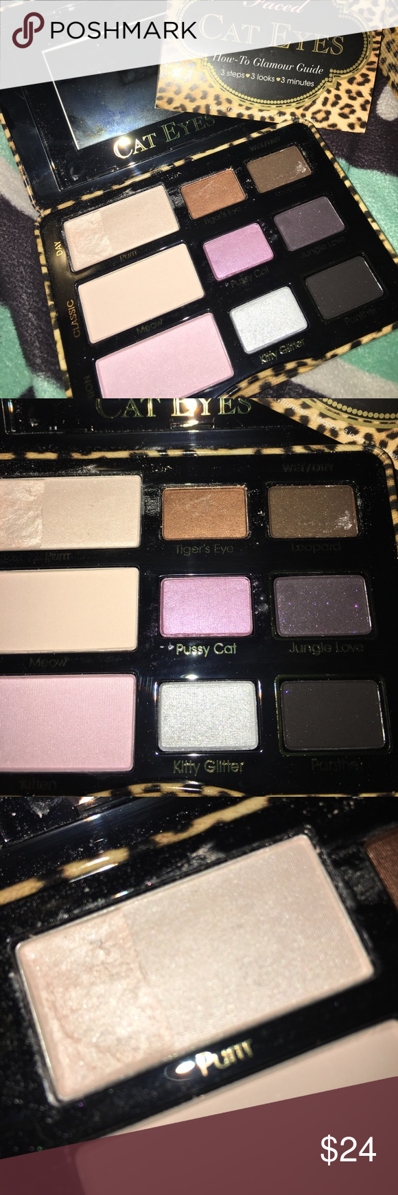 Too Faced 🖤Cat Eyes🖤Eyeshadow Palette Too faced makeup
