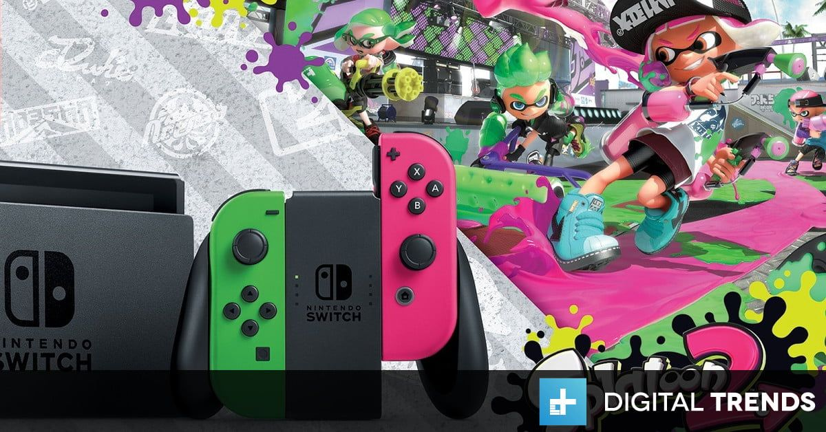 You Can Pre Order The Splatoon 2 Switch Bundle From