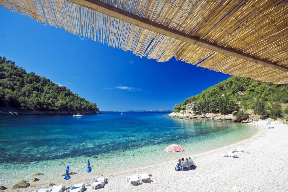 Korcula das schwarze Korfu von Kroatien Reisen