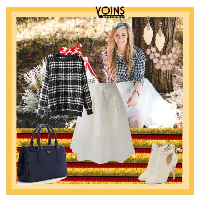 """""""Yoins.com - contest"""" by aneto-j ❤ liked on Polyvore featuring Jimmy Choo, Prada, women's clothing, women's fashion, women, female, woman, misses, juniors and yoins"""
