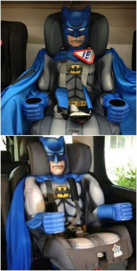 Batman Booster Seat Is An Awesome Gift Idea