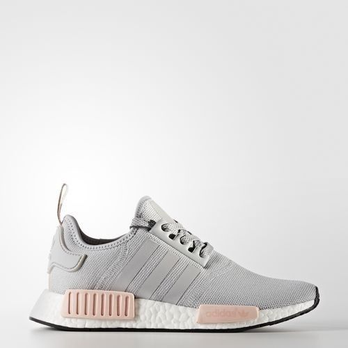 Adidas NMD Runner R1 W BY3058 Clear Light Onix Vapor Pink Gray Women's |  eBay