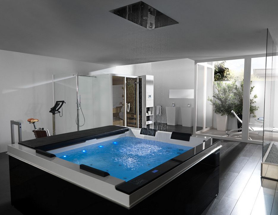 Spa Interior Design Pictures | Luxury bathtub, Bathroom ...