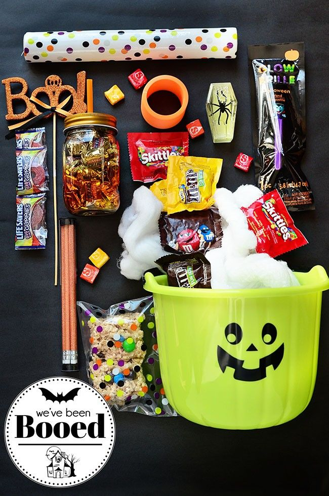 Get in the spirit of Halloween by creating a BOO bundle filled with
