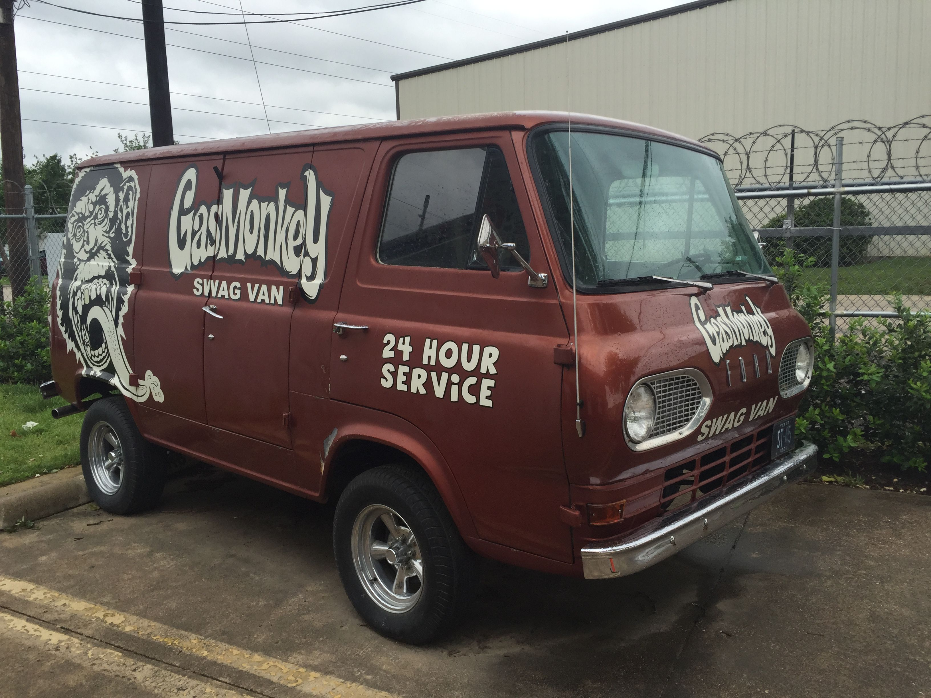 Gas Monkey Van From Dallas Texas Gas Monkey Classic Sports