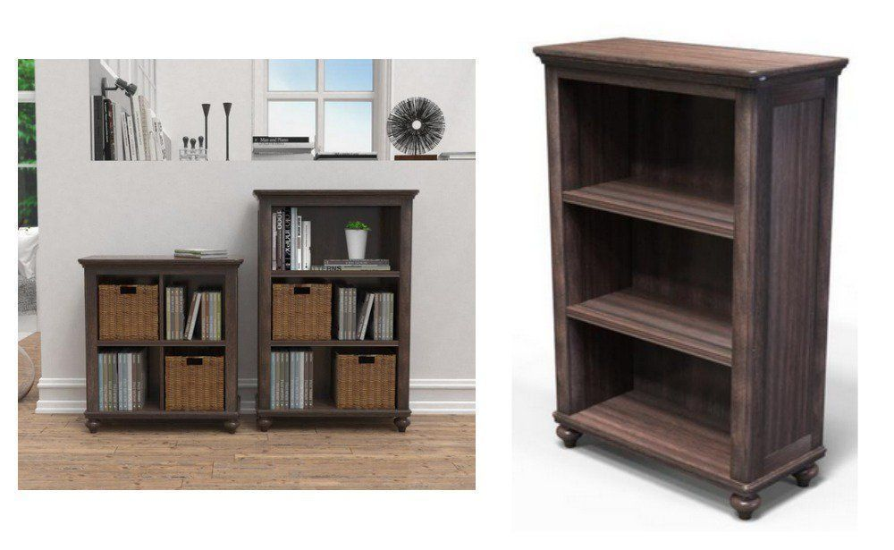 Tacoma Hill Espresso 3 Shelf Bookcase 38 77 Reg 77 53 At Home