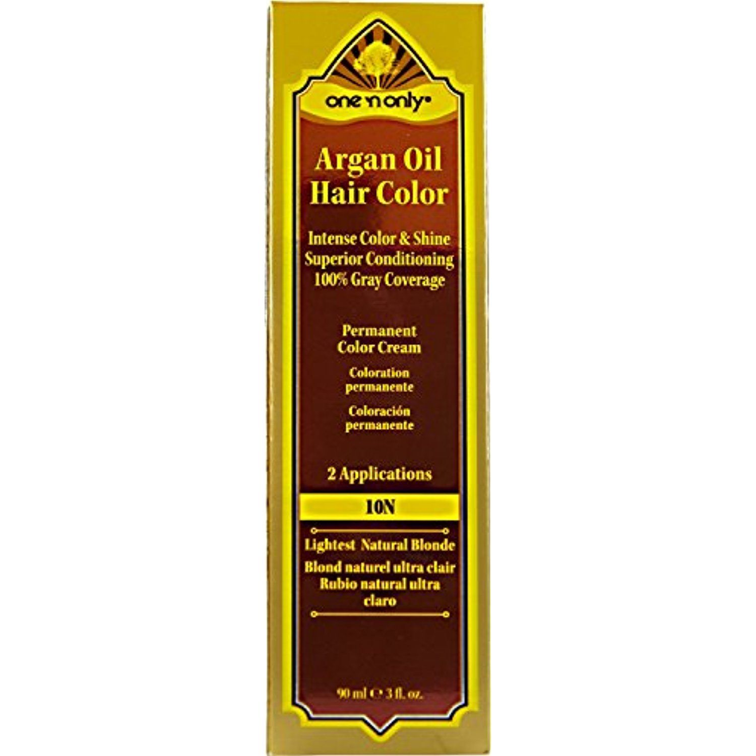 One N Only Argan Oil Hair Color 10n Lightest Natural Blonde You