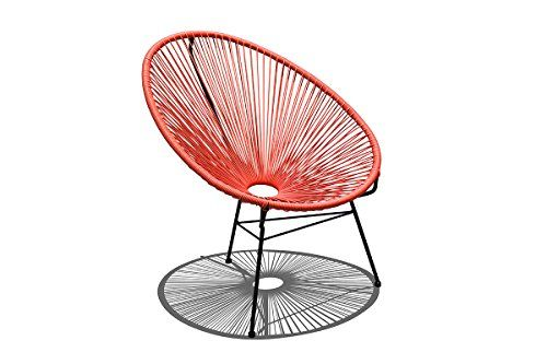 Harmonia Living Hlacalcatb Acapulco Lounge Chair Atomic Tangerine To View Further For This Item Visit The Image Link Chair Acapulco Chair Cheap Patio Sets