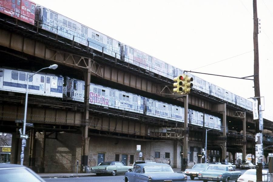 Gunhill Road and White Plains in the 1970s Bronx, NY