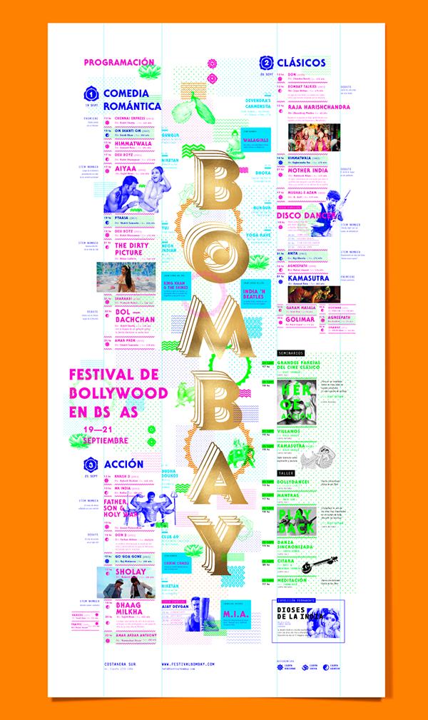 BOMBAY Festival Bollywood en Buenos Aires.ESP_Durante tres días el festival tendrá proyecciones, música en vivo, y diferentes actividades relacionadas con la cultura hindú, pretendiendo ser el espíritu, las tradiciones y los colores de la India traído…