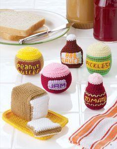 Crochet Flowers and Food on Pinterest | Crochet Food, Amigurumi ...