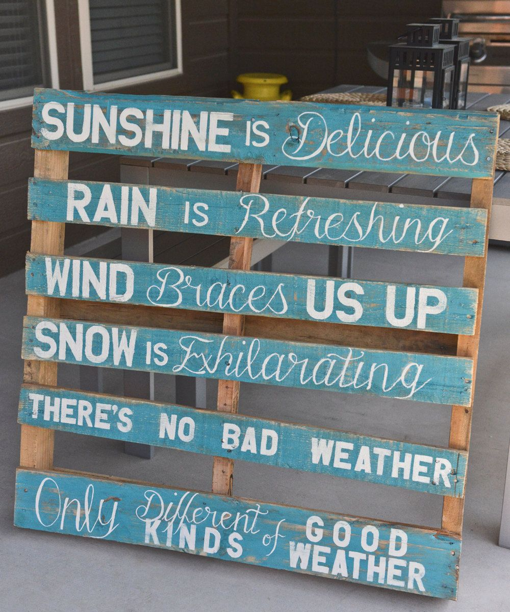 Quotes On Wood Wall Art : Best pallet quotes ideas on diy