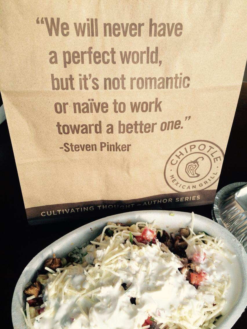 Food for thought via chipotle words funnies funny