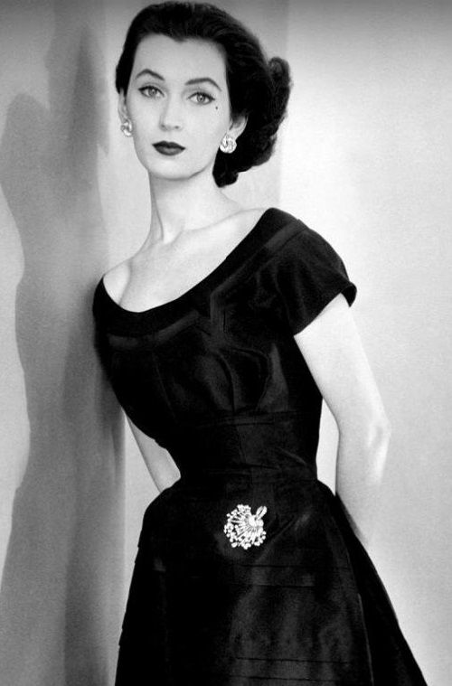 The highest-paid model of her time, Dovima/ muse of Christian Dior