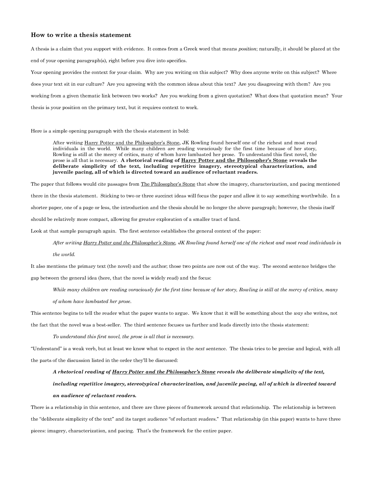 second author paper in thesis Writing a thesis paper for high school or college can prove to be an overwhelming and daunting task but it doesn't have to be breaking the process down into small chunks alleviates stress, improves the quality of research and affords the writer the opportunity to create an organized, well-written paper.