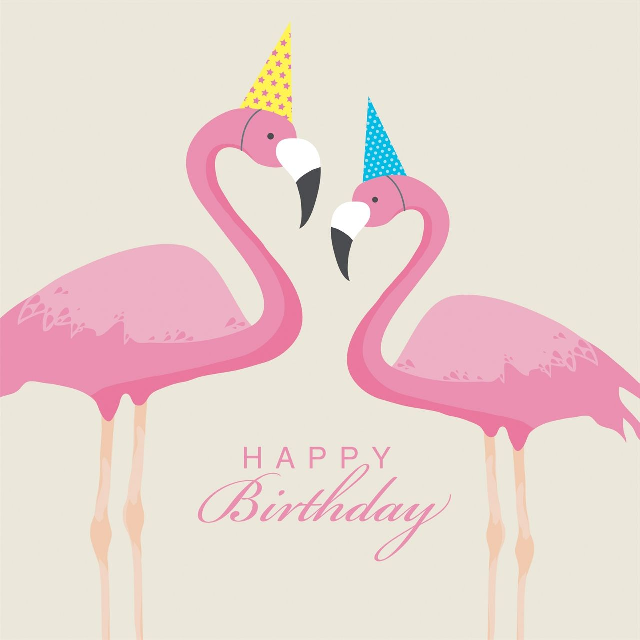 Flamingo birthday … | birthday | Flami…