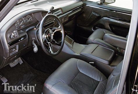 1996 Ford Bronco interior | Ford Broncos | Ford bronco ...