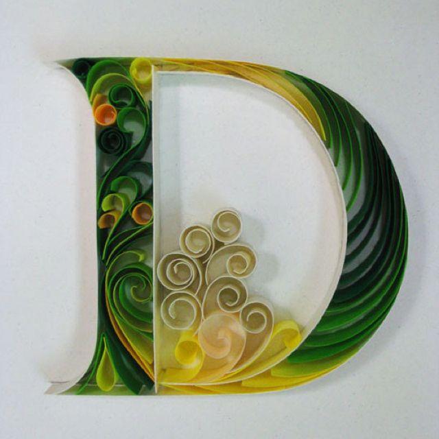 Paper Typography (D)