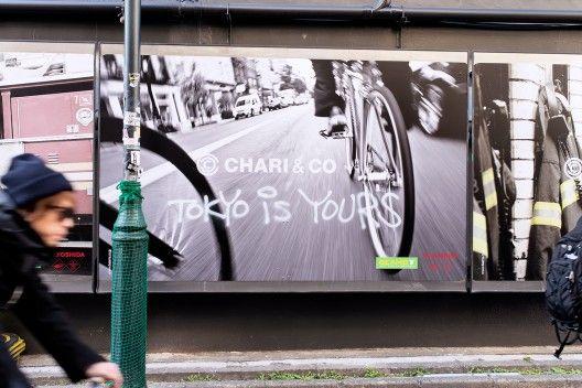 """""""Tokyo is yours"""" las nuevas pintadas que invaden la ciudad de Tokio."""