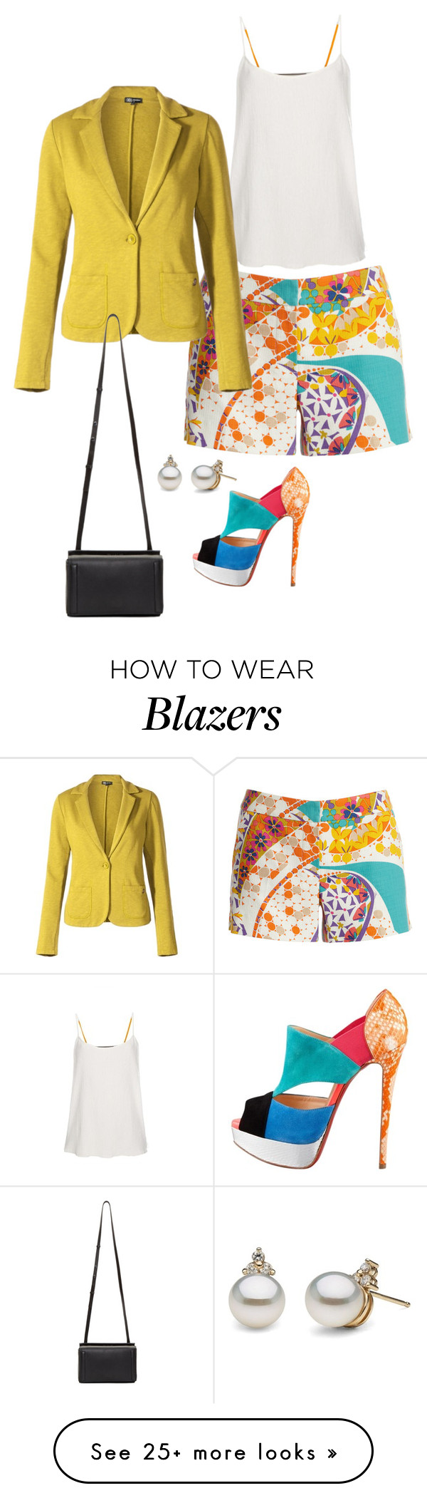 """""""Untitled #3781"""" by bbossboo on Polyvore featuring Trina Turk, Christian Louboutin, Paul Smith and rag & bone"""