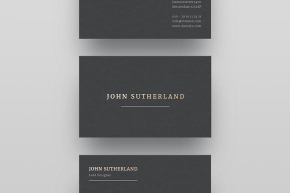 Sutherland business card card templates business cards and gold foil business card template by ruben stom on creativemarket flashek Choice Image