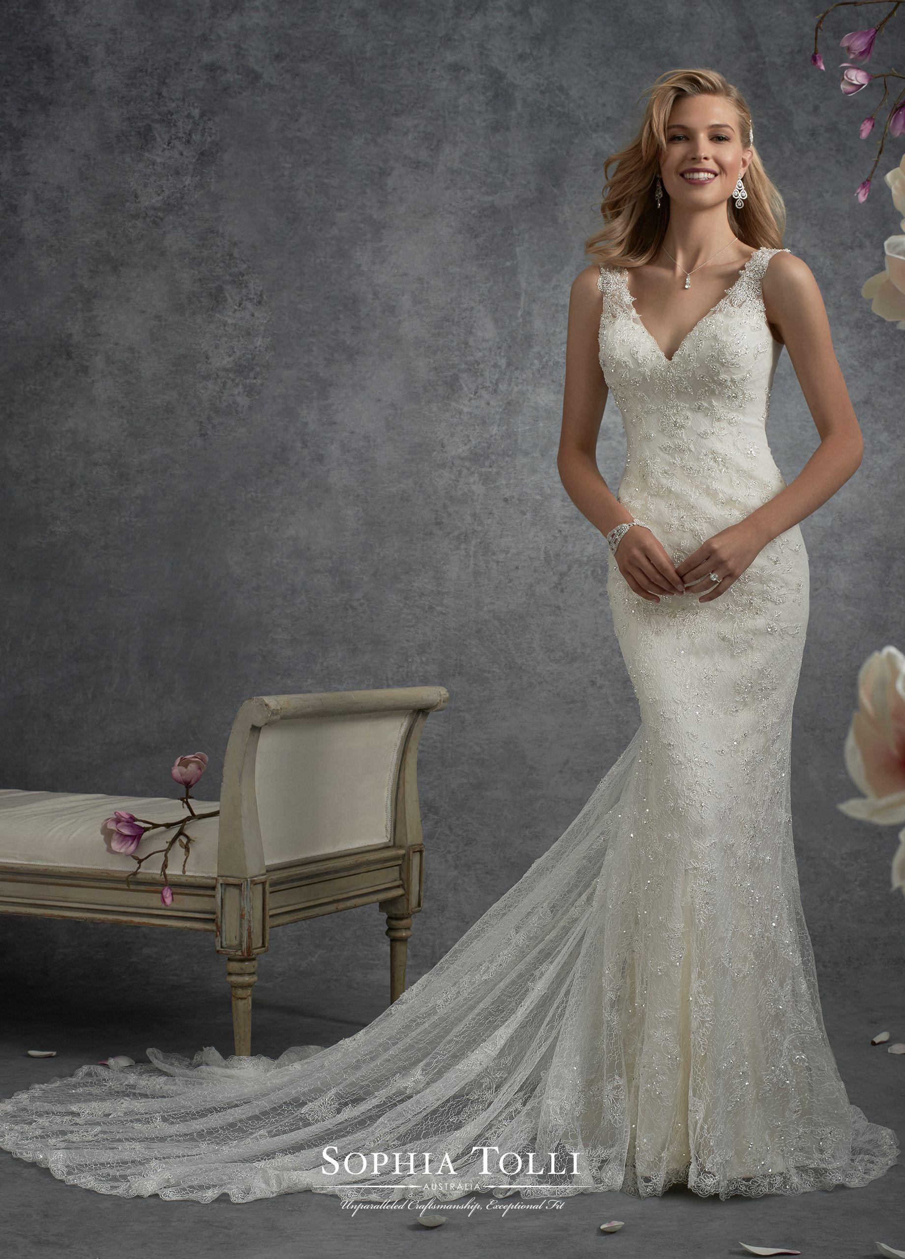 Bridal Dresses Sophia Tolli Sophia Tolli Wedding Dresses Mermaid Wedding Dress Fit And Flare Wedding Dress