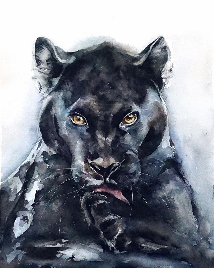приподнятые рисунки пантер картинки карб