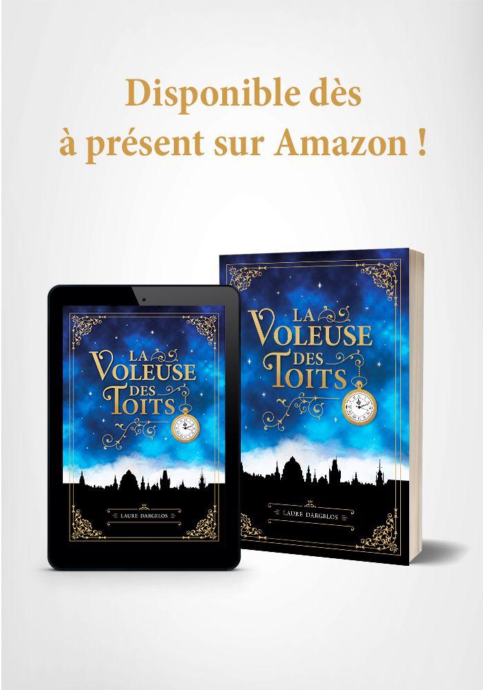 La Voleuse Des Toits Est Disponible Sur Amazon Blog