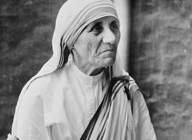 essay about mother teresa the saint of gutters Remembering mother teresa, born 100 years ago blessed mother teresa of  calcutta 26 august 1910-5 september 1997 on aug 26, 1910.