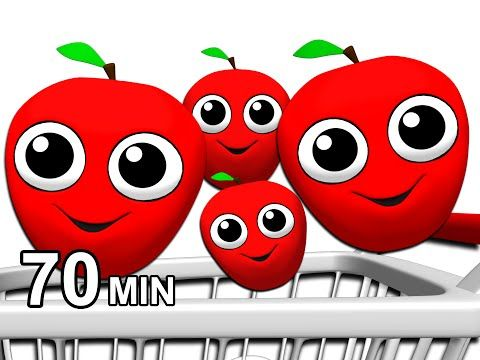 Apples Are Yummy More Learn Colors Fruits Vegetable Names 3d Toddler Songs Busy Beavers Learning Colors Songs For Toddlers Busy Beaver