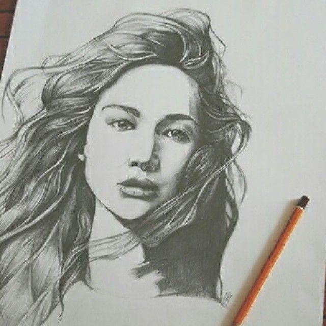 Illustration Of #KatnissEverdeen In #TheHungerGames