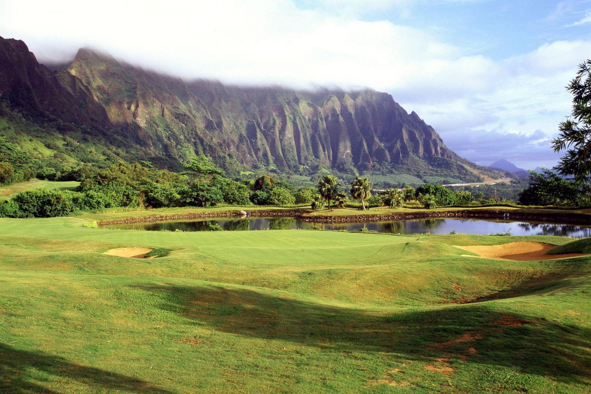 Beautiful Golf Course HD desktop wallpaper High