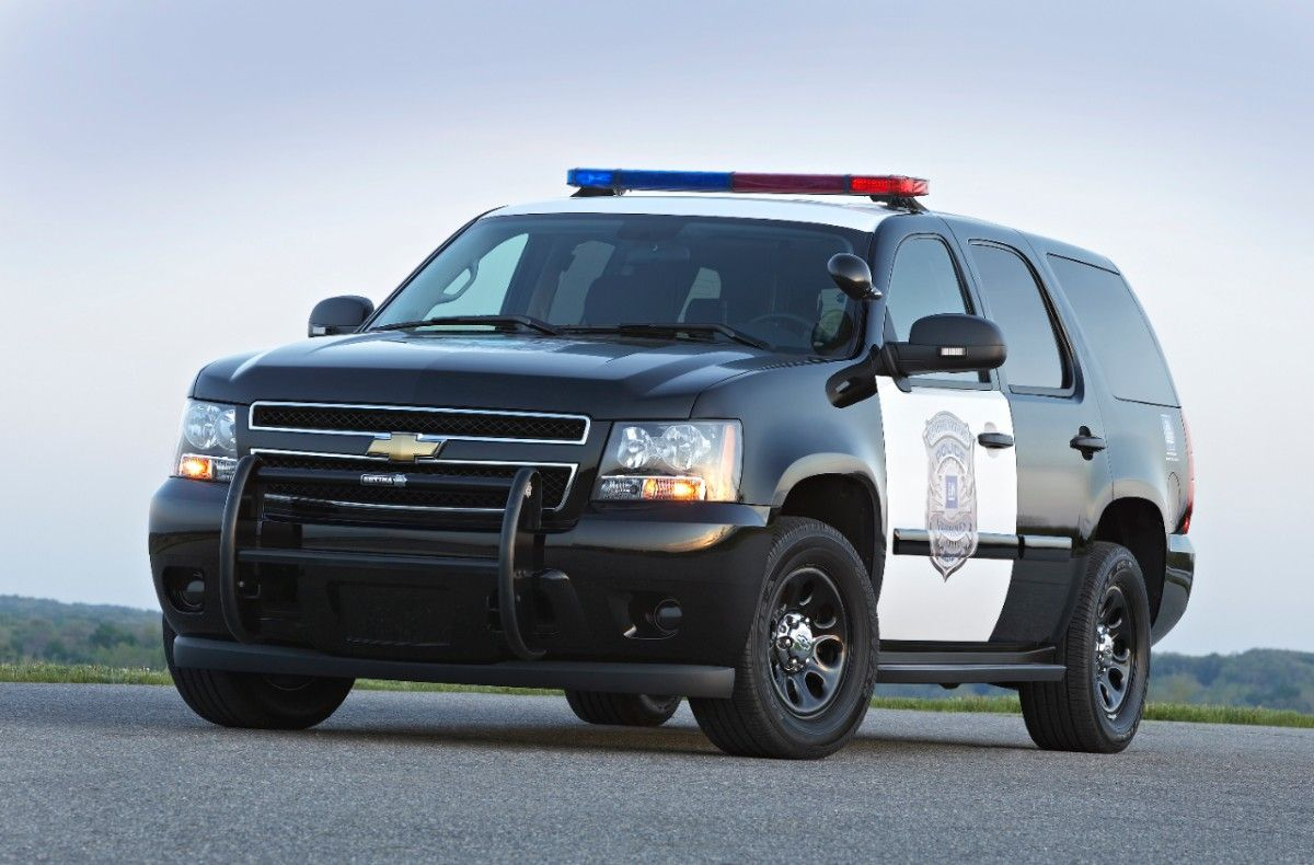 The 2013 chevrolet tahoe police pursuit vehicle