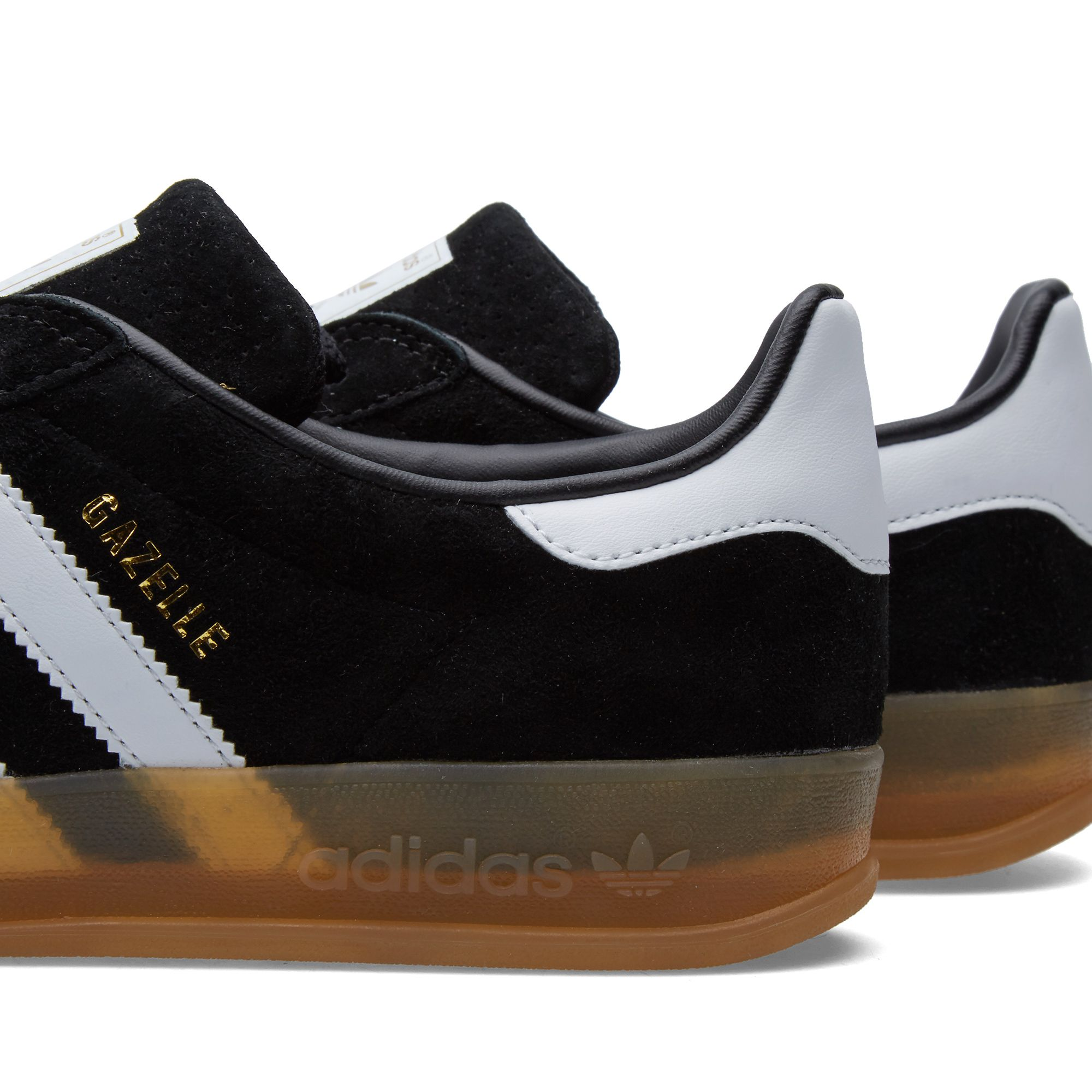 best website d9a15 57def Adidas Gazelle Black Gum Sole