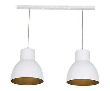 double suspension blanc et dor l30 luminaires pinterest suspension blanche int rieur. Black Bedroom Furniture Sets. Home Design Ideas