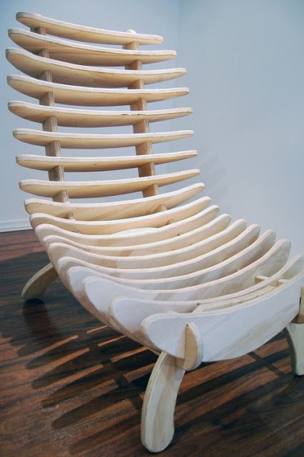 Make This Fishbone Chair Free Fishbone Chair Project Plans