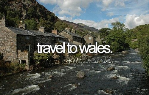Travel to Wales. #visitwales