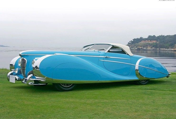 The Delahaye The Most Beautiful Car In The World Art Deco Car
