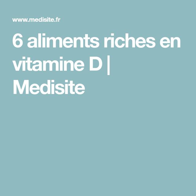 6 aliments riches en vitamine D | Aliments riches en ...