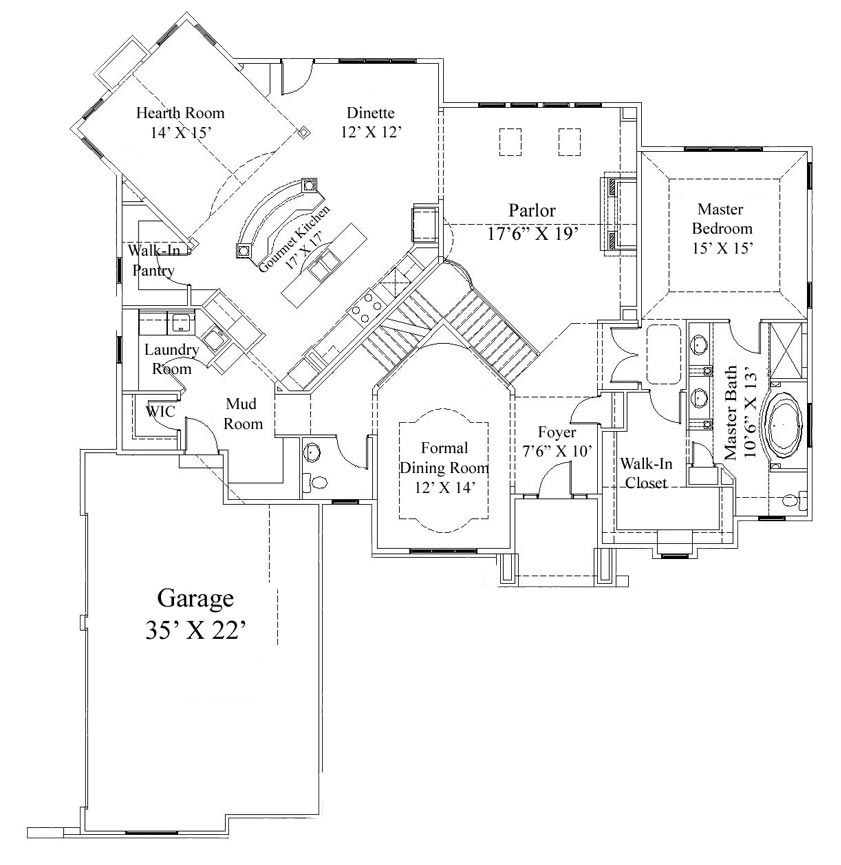 The Augusta Home Design Demlang Builders Sussex Wi Floor Plans Architectural Floor Plans House Design