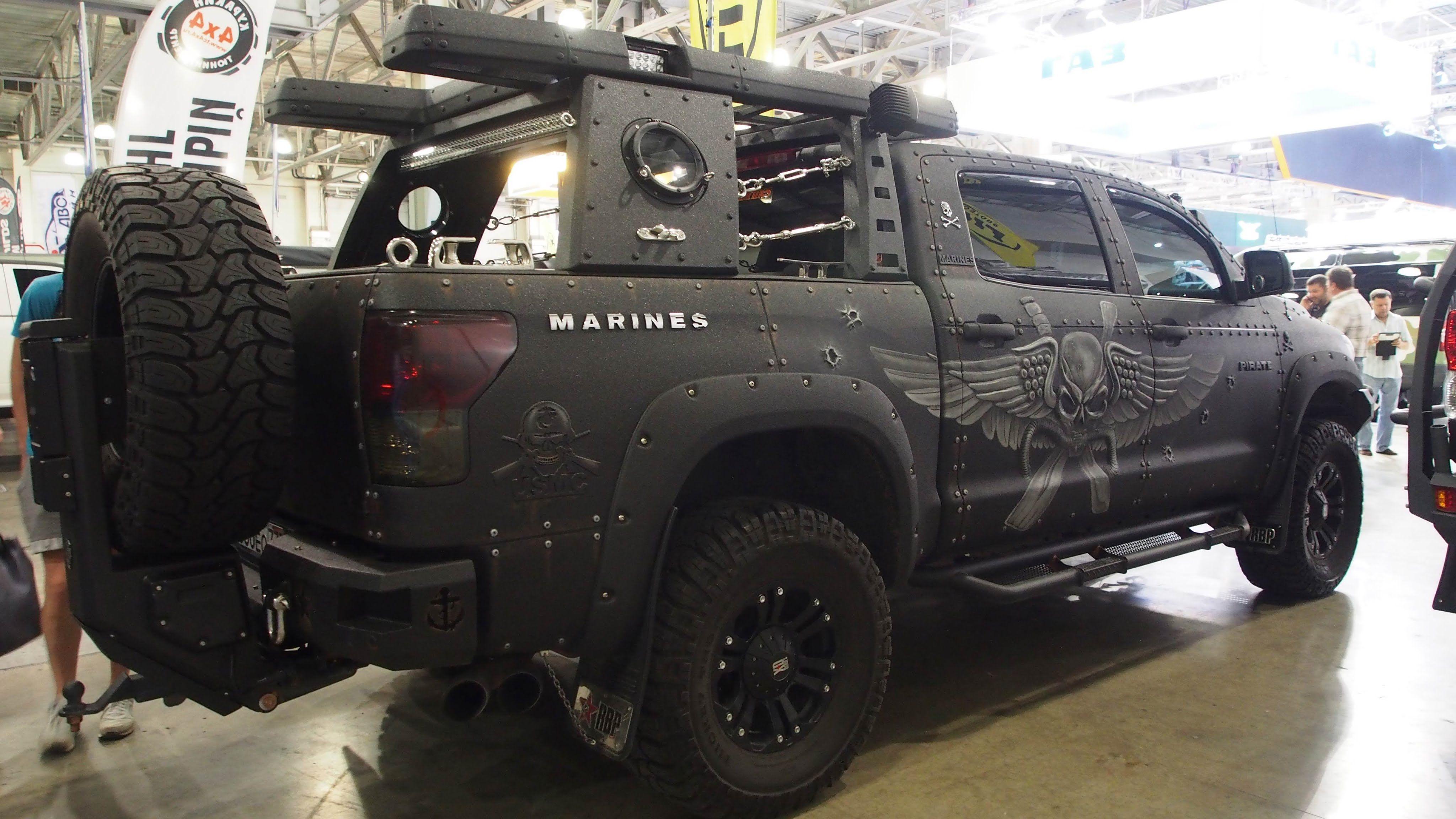 toyota tundra crewmax cab pirat marines offroad tuning moscow rh pinterest com