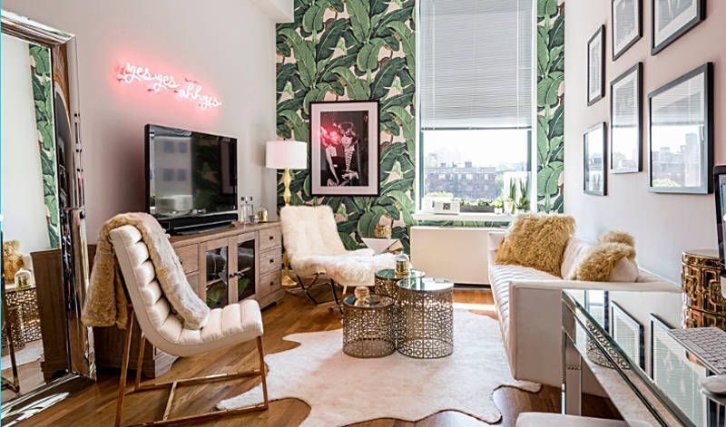 36 Tropical Decorating Ideas Fresh Off The Fashion Runways Apartment Interior Design Small Apartment Interior Tropical Home Decor #tropical #living #room #design